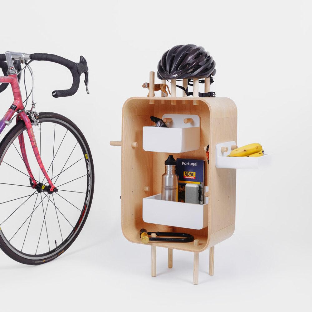 modular cycling rack